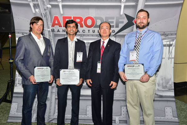 AeroDef Manufacturing 2017 Poster Challenge Winners