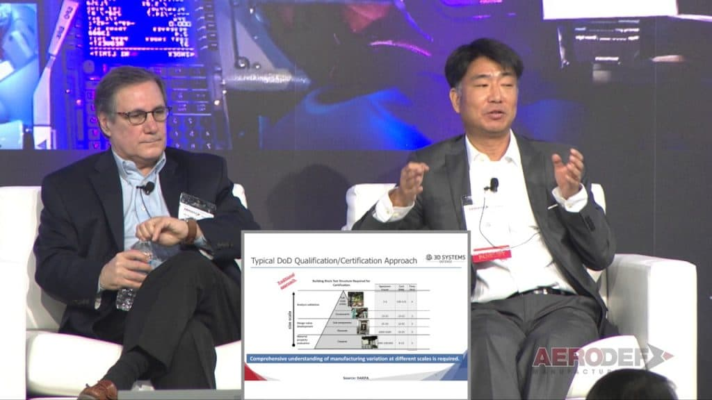 AeroDef 2017 Panel: Using Additive Mfg to Shorten Defense Qualification Cycle