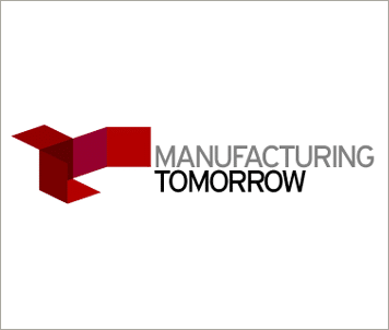 Manufacturing Tomorrow logo AeroDef Manufacturing Event Conference