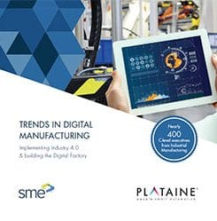 2018 Key Trends in Digital Manufacturing Revealed in Joint Plataine; SME Industrial IoT Survey